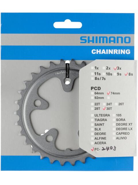 Shimano Claris FC-2403 Klinge 9-trins sølv